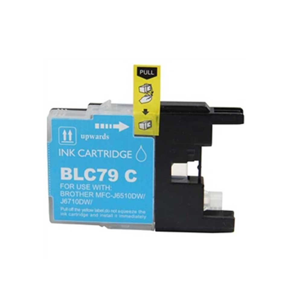 Brother Toner Cartridge - Cyan - Compatible - OEM LC79C