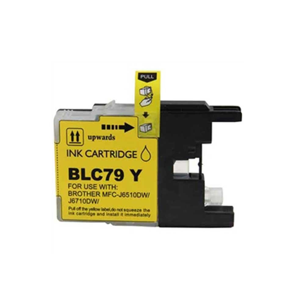 Brother Ink Cartridge - Yellow - Compatible - OEM LC79Y