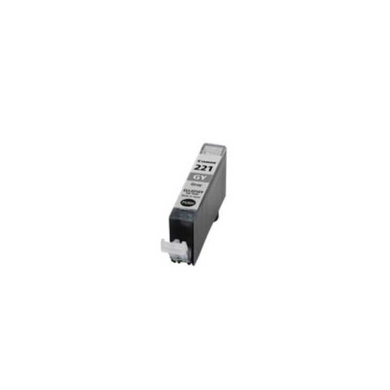 Canon Ink Cartridge - Gray - Compatible - OEM CLI-221GY