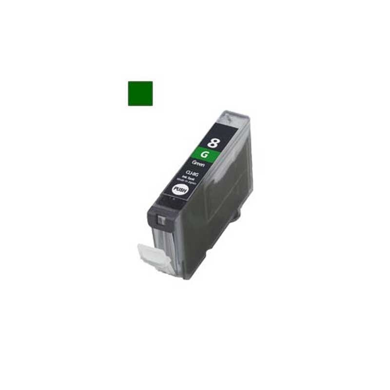 Canon Ink Cartridge - Green - Compatible - OEM CCLI-8G