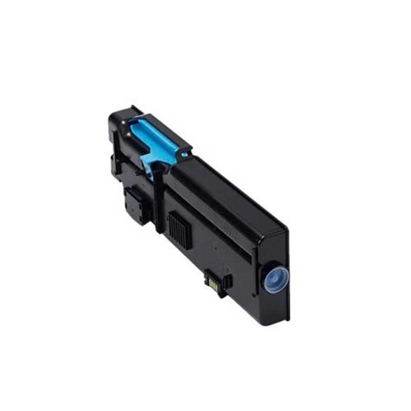 Dell High Yield Toner Cartridge - Cyan - Compatible - OEM 593-BBBT / V1620