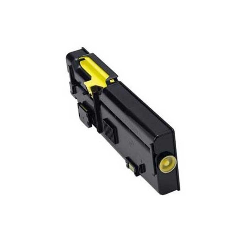 Dell High Yield Toner Cartridge - Yellow - Compatible - OEM 593-BBBR / R9PYX