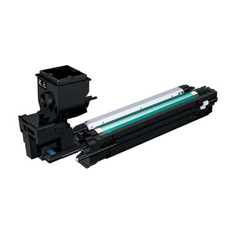 Konica-Minolta Toner Cartridge - Black - Compatible - OEM A0WG02F