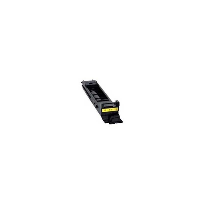 Konica-Minolta Toner Cartridge - Yellow - Compatible - OEM A0DK233