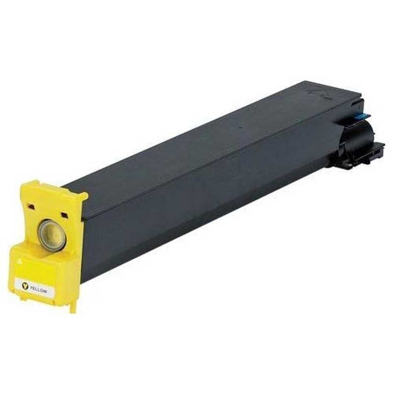Konica-Minolta Toner Cartridge - Yellow - Compatible - OEM TN-210Y