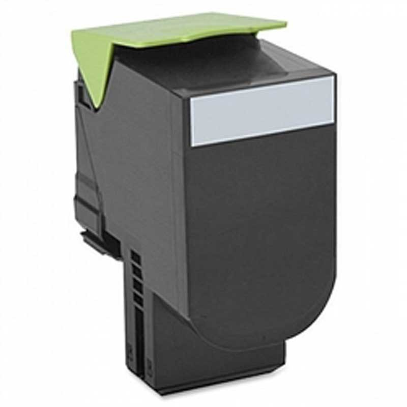 Lexmark High Yield Toner Cartridge - Black - Compatible - OEM 70C1HK0