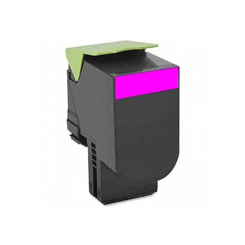 Lexmark High Yield Toner Cartridge - Magenta - Compatible - OEM 70C1HM0