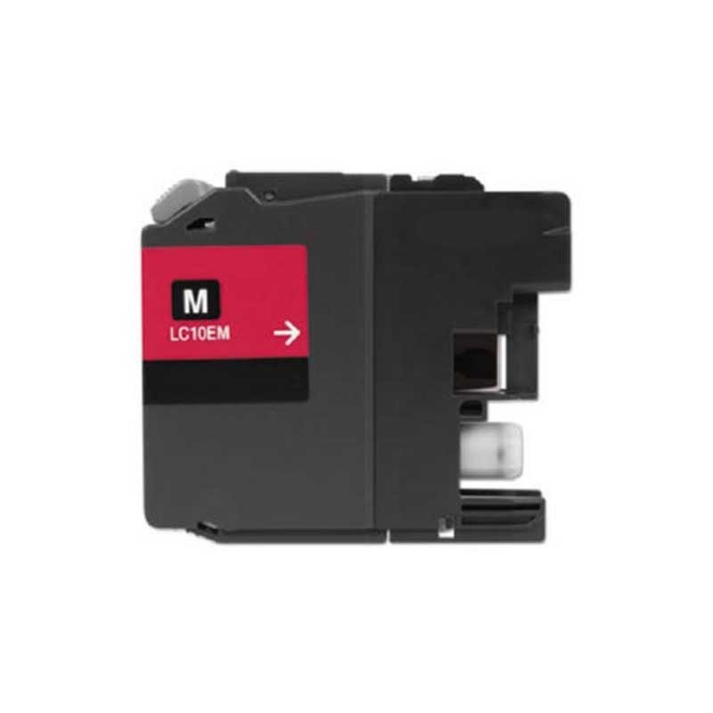 Brother High Yield Ink Cartridge - Magenta - Compatible - OEM LC10EM