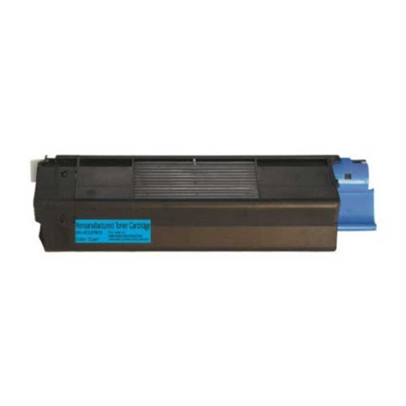 Oki-Okidata Toner Cartridge - Cyan - Compatible - OEM 42127403