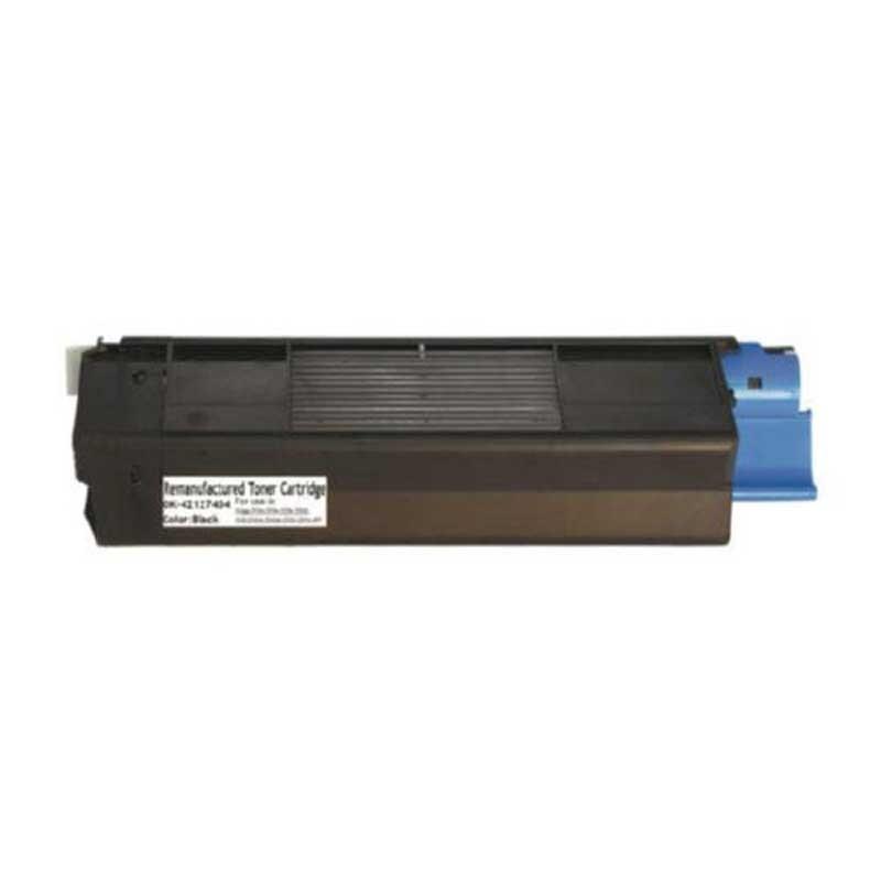 Oki-Okidata Toner Cartridge - Black - Compatible - OEM 42127404