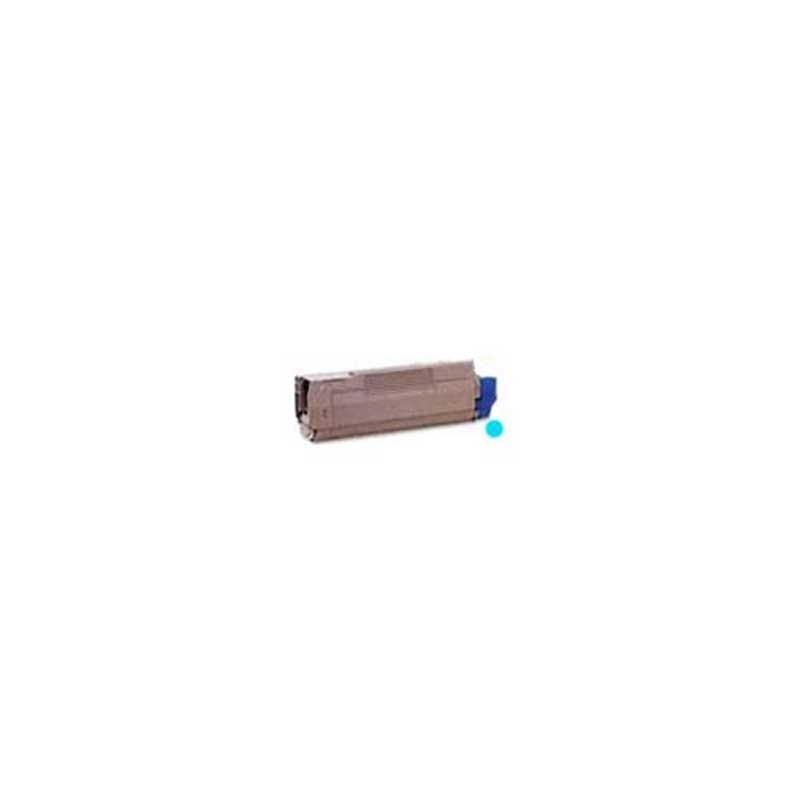 Oki-Okidata Toner Cartridge - Cyan - Compatible - OEM 43324419