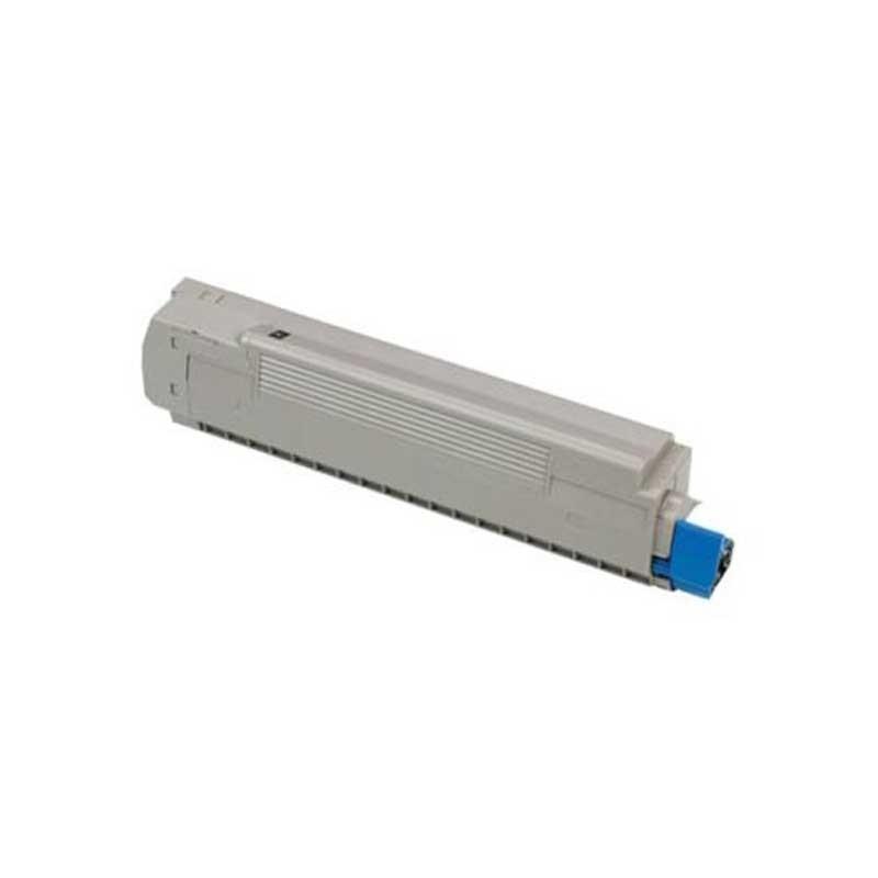 Okidata Toner Cartridge - Black - Compatible - OEM 43487736