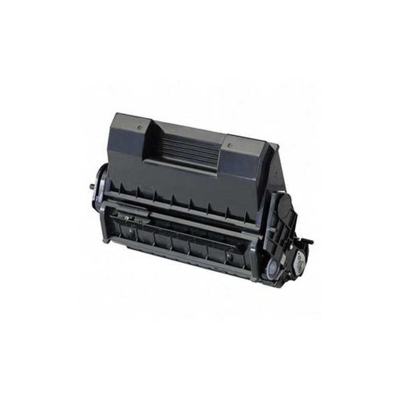 Oki-Okidata Toner Cartridge - Black - Compatible - OEM 52123601