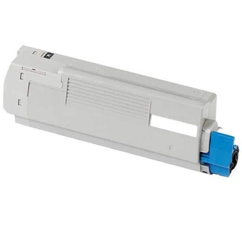 Oki-Okidata Mono Toner Cartridge - Black - Compatible - OEM 45488801