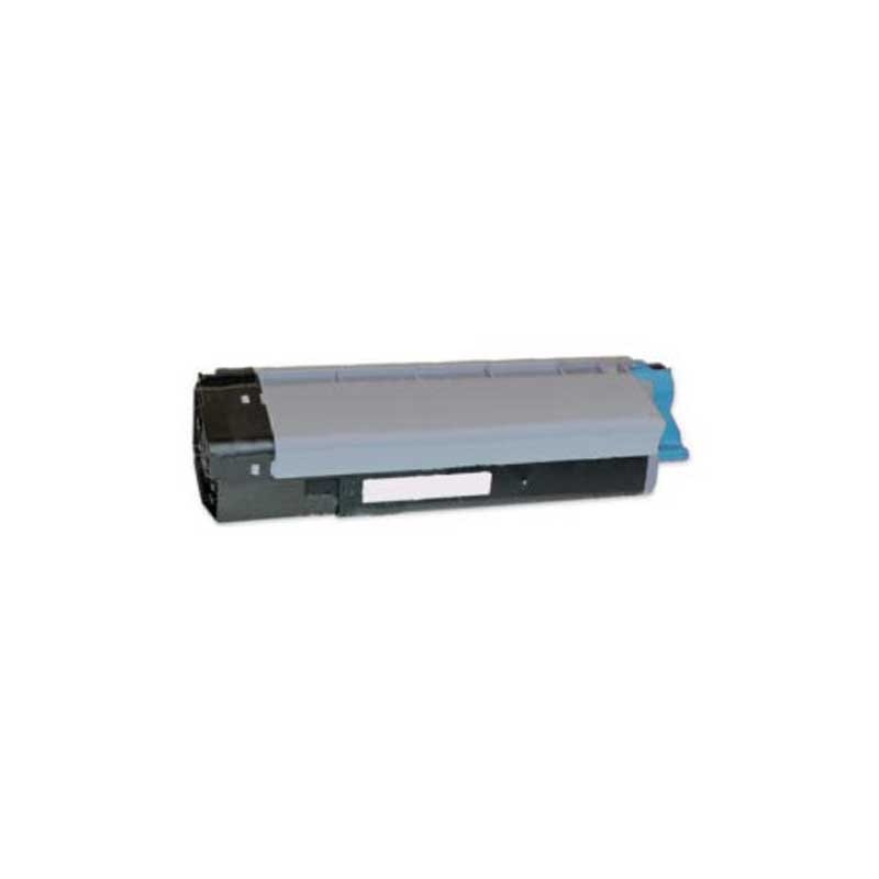 Oki-Okidata Toner Cartridge - Cyan - Compatible - OEM 43324476