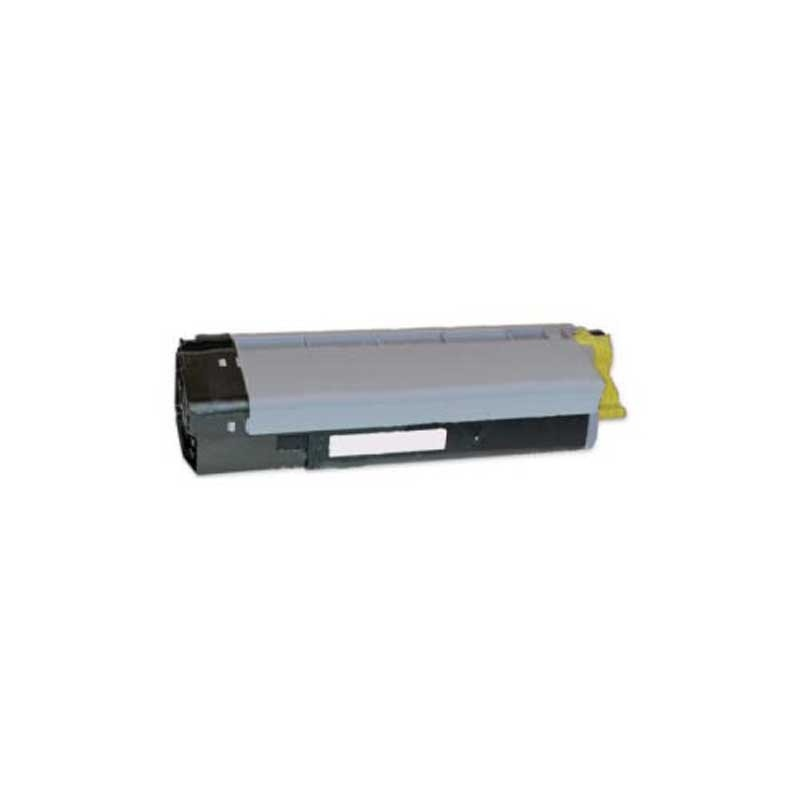 Oki-Okidata Toner Cartridge - Yellow - Compatible - OEM 43324474