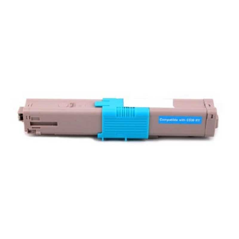 Oki-Okidata Toner Cartridge - Cyan - Compatible - OEM 44469721