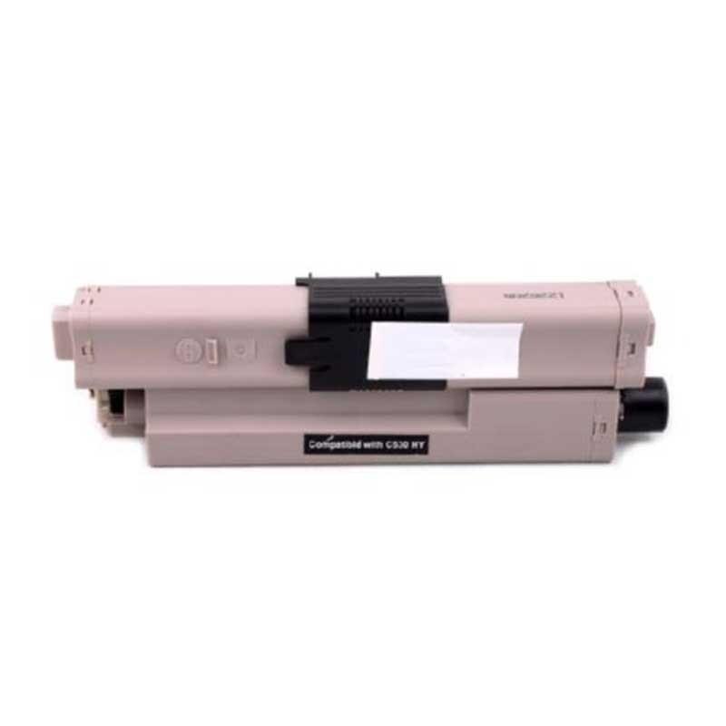 Oki-Okidata Toner Cartridge - Black - Compatible - OEM 44469802
