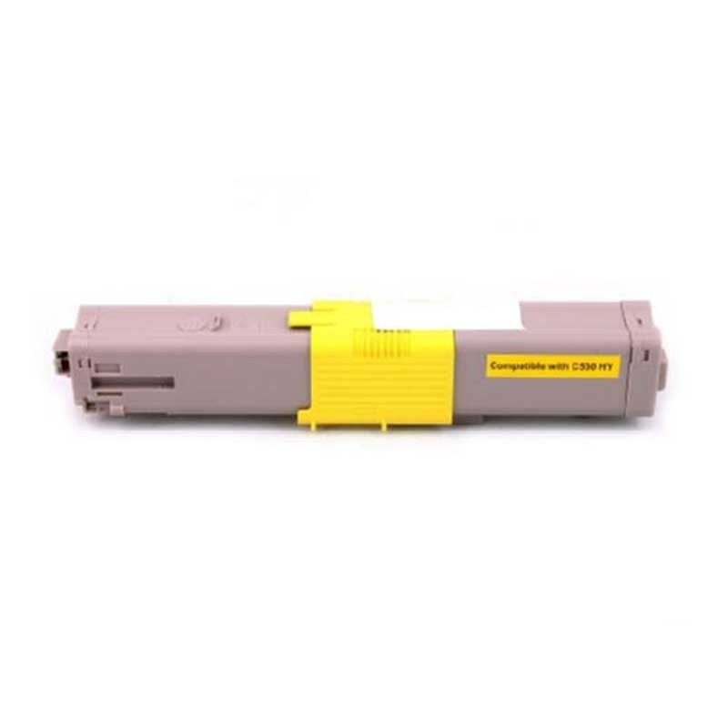 Okidata Toner Cartridge - Yellow - Compatible - OEM 44469719