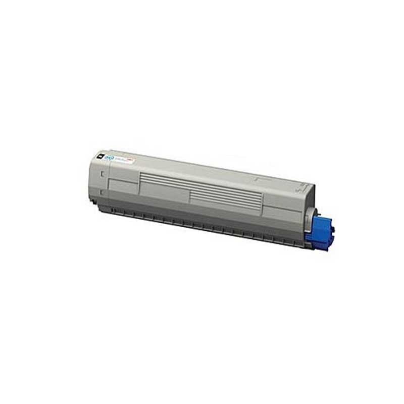 Oki-Okidata Toner Cartridge - Black - Compatible - OEM 44844512