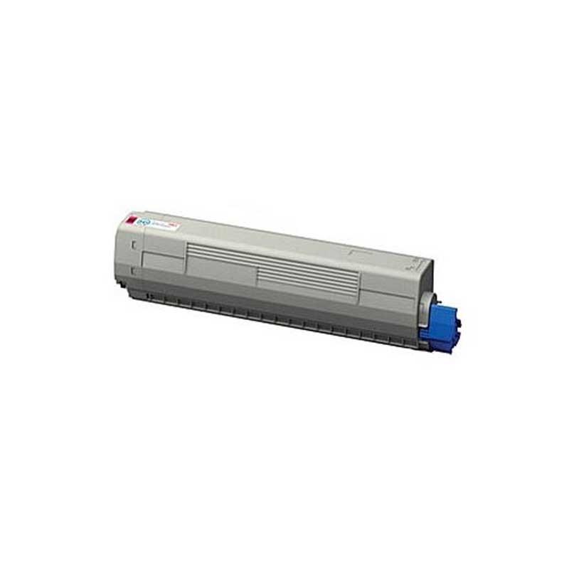 Oki-Okidata Toner Cartridge - Magenta - Compatible - OEM 44844510