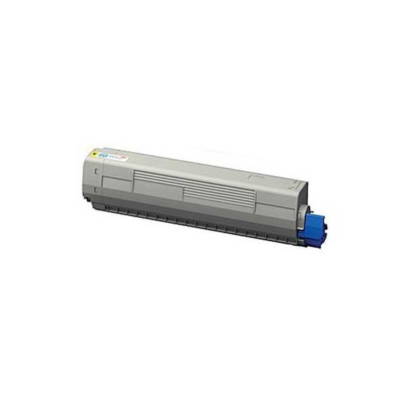 Oki-Okidata Toner Cartridge - Yellow - Compatible - OEM 44844509