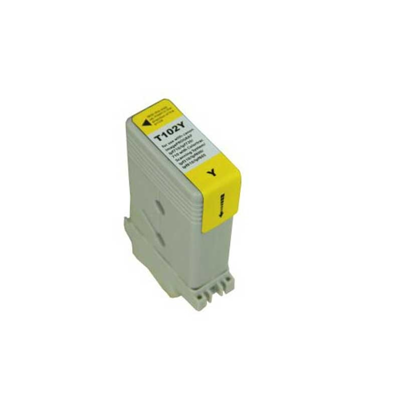 Canon Ink Cartridge - Yellow - Compatible - OEM PFI-102Y