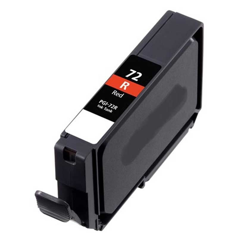 Canon Ink Cartridge - Red - Compatible - OEM PGI-72R