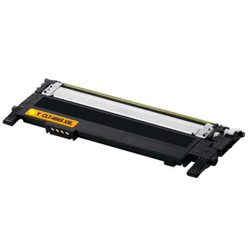 Samsung Toner Cartridge - Yellow - Compatible - OEM CLT-Y406S