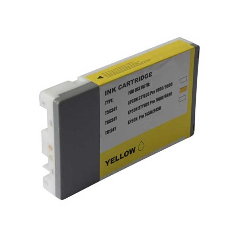 Epson Ink Cartridge - Yellow - Compatible - OEM T603400