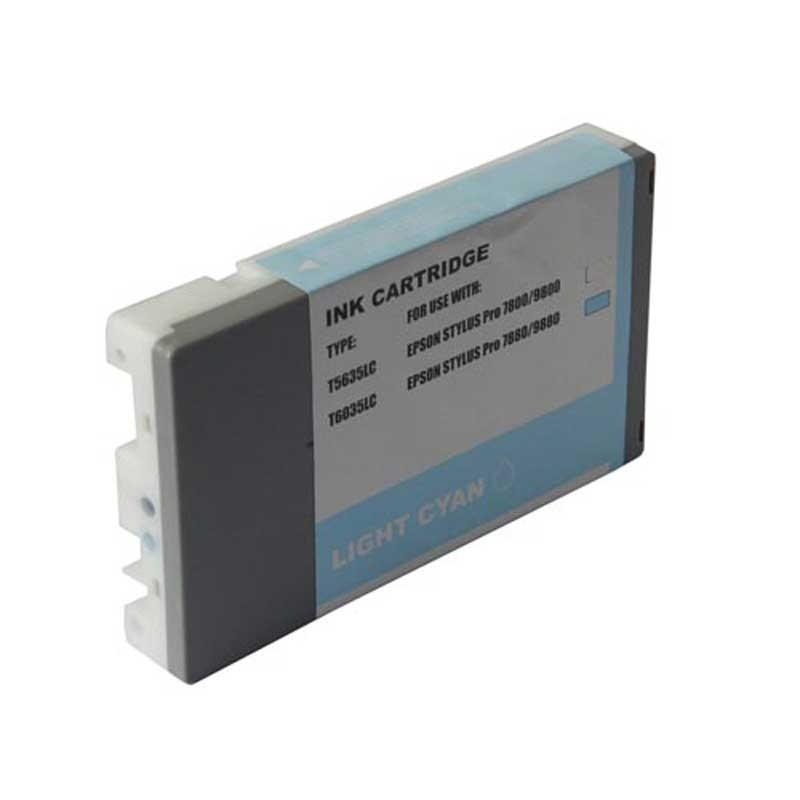 Epson Ink Cartridge - Cyan - Compatible - OEM T603500