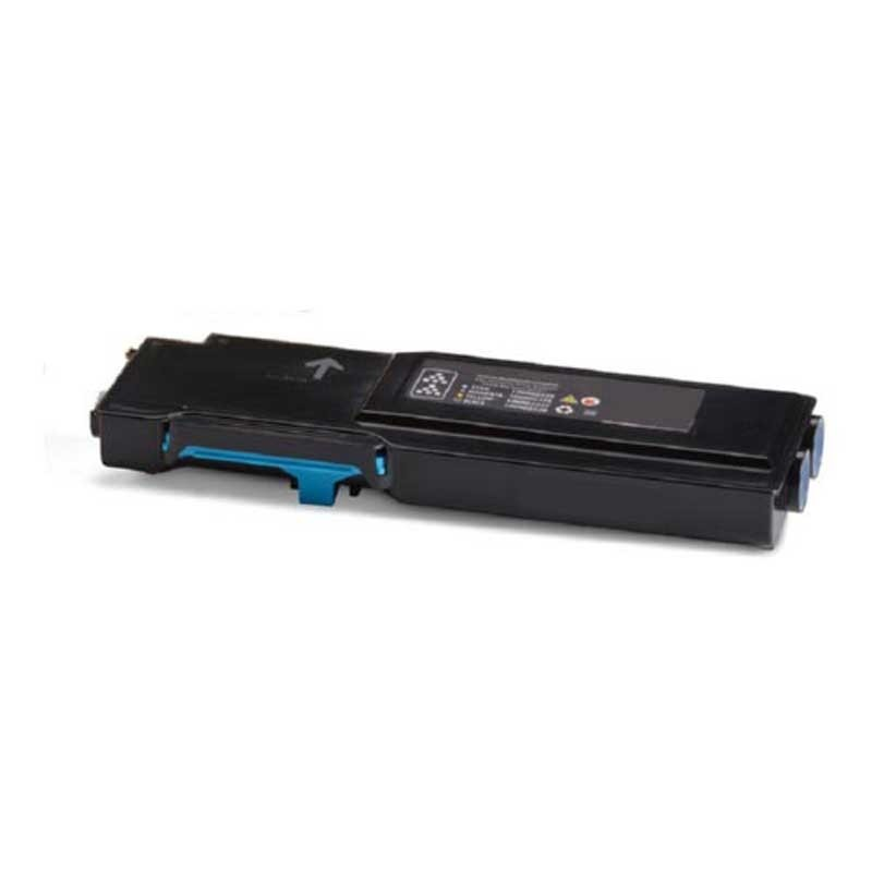 Xerox High Yield Toner Cartridge - Cyan - Compatible - OEM 106R02744