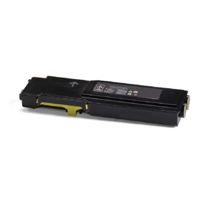 Xerox High Yield Toner Cartridge- Yellow - Compatible - OEM 106R02746