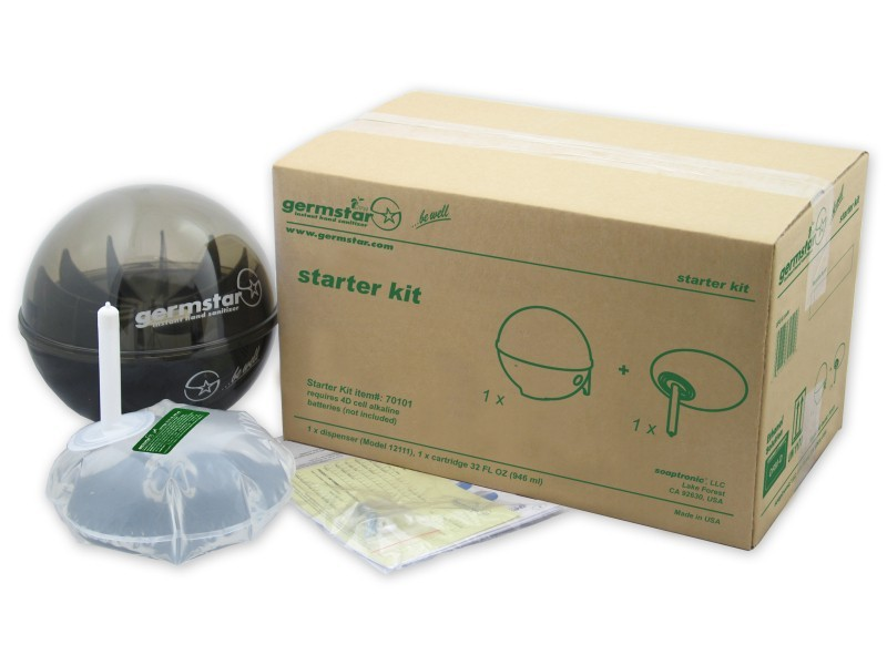 Starter Kit w/Germstar Wall Dispenser