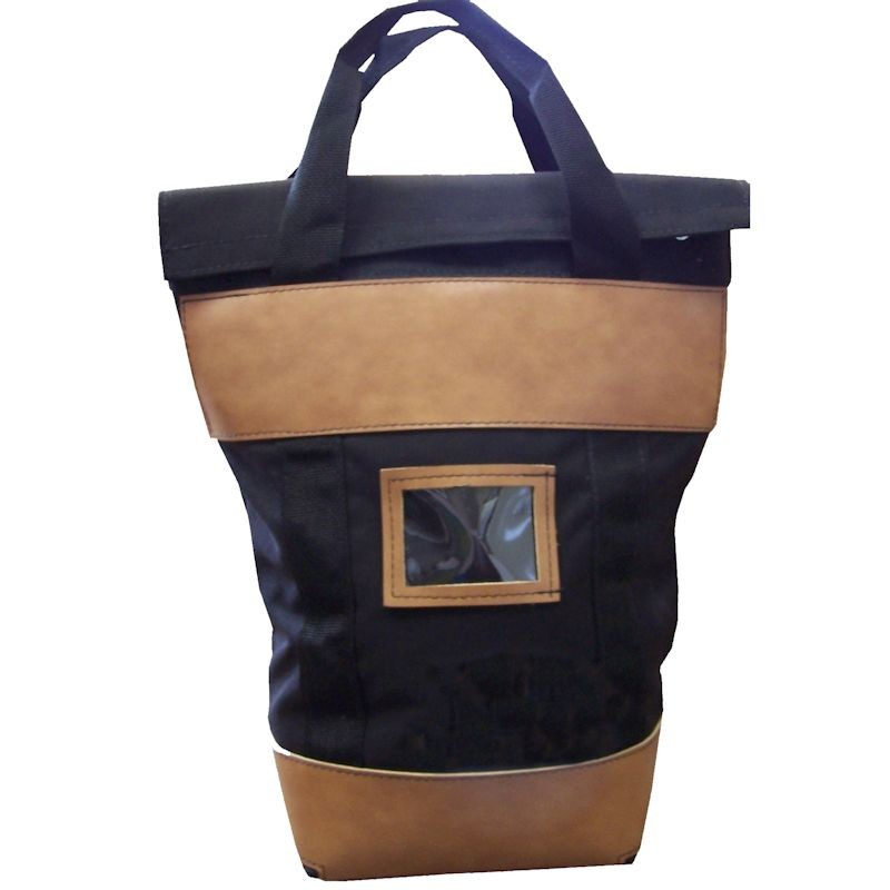16W x 18H x 7D Fire-Resistant Locking Courier Bags - Made to Order