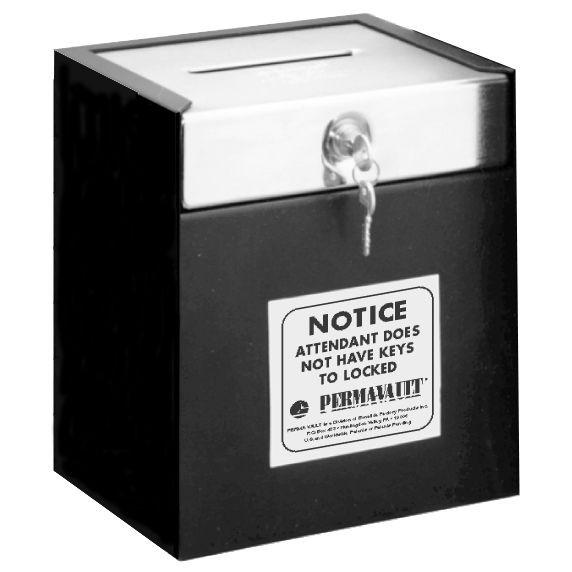 Medeco Lock Drop Box - 10W x 11-1/2H x 8D