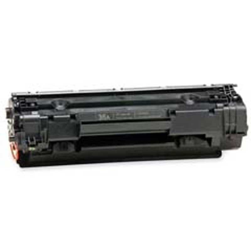 HP MICR Toner Cartridge - Black - Compatible - OEM CB436A