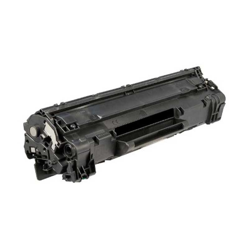 HP High Yield Toner Cartridge - Black - Compatible - OEM CE285A