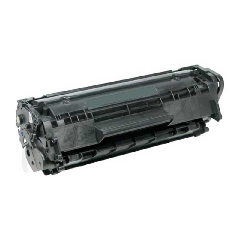 HP High Yield MICR Toner Cartridge - Black - Compatible - OEM Q2612A
