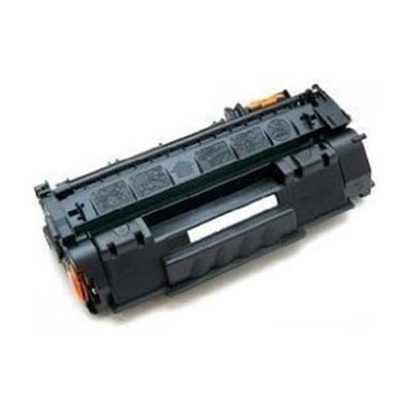 HP Toner Cartridge - Black - Compatible - OEM Q7553A