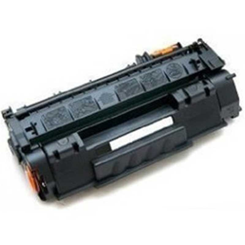 HP High Yield Toner Cartridge - Black - Compatible - OEM Q7553X