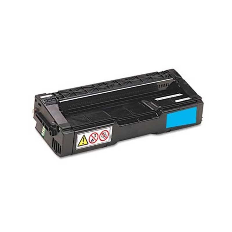 Ricoh Toner Cartridge - Cyan - Compatible - OEM 406047