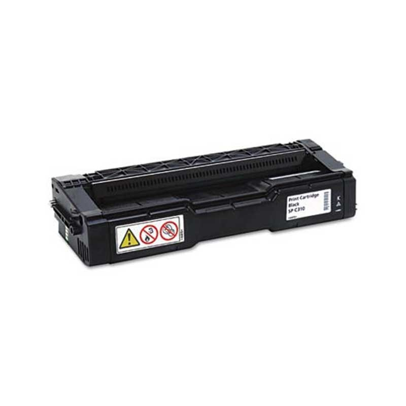 Ricoh Toner Cartridge - Black - Compatible - OEM 406475