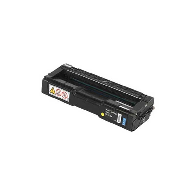 Ricoh Toner Cartridge - Cyan - Compatible - OEM 406476