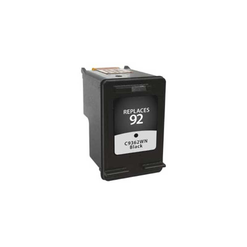 HP 92 Compatible Black Ink Cartridge OEM part # C9362WN