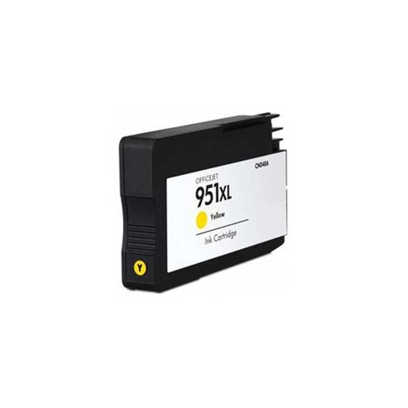 HP Ink Cartridge - Yellow - Remanufactured - OEM CN048AN