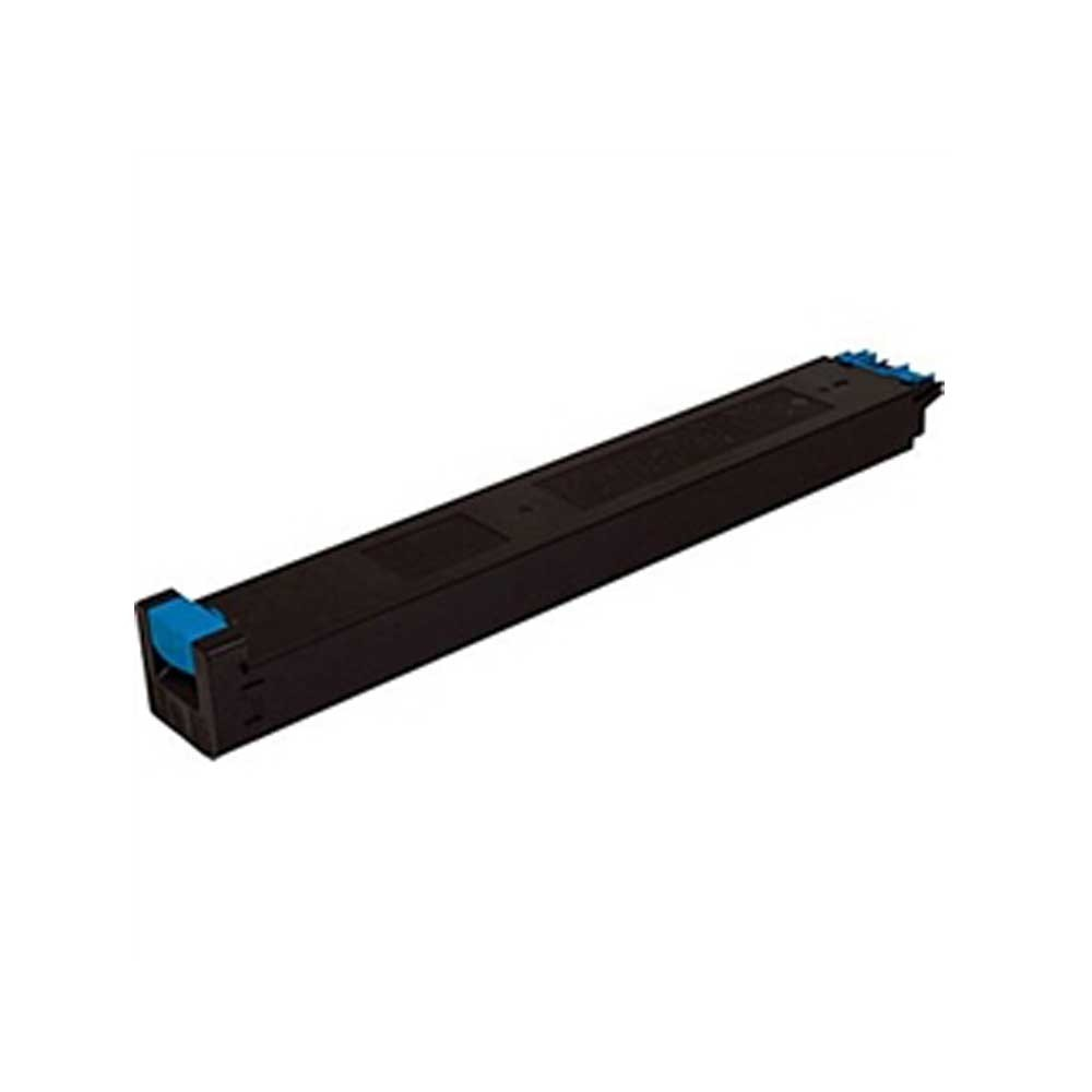 Sharp Toner Cartridge - Cyan - Compatible - OEM MX-27NTCA