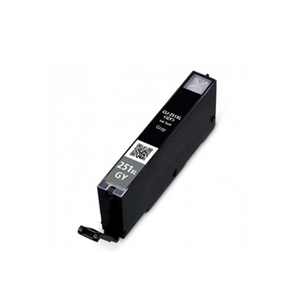 Canon Ink Cartridge - Grey - Compatible - OEM CLI-251XL