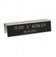 Cubicle Nameplates With Frame - 8W x 2H - 2 Line