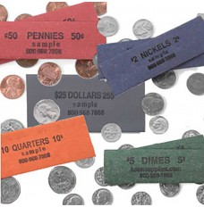 Coin Wrappers - Flat - Custom Imprint